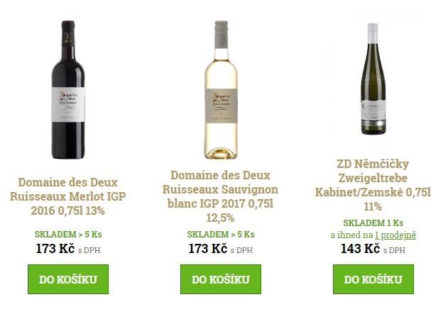 dobrá vína e-shop
